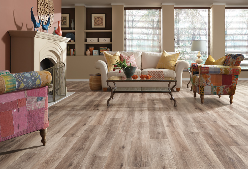 Laminate Flooring Offers The Beautiful Look Of Porcelain