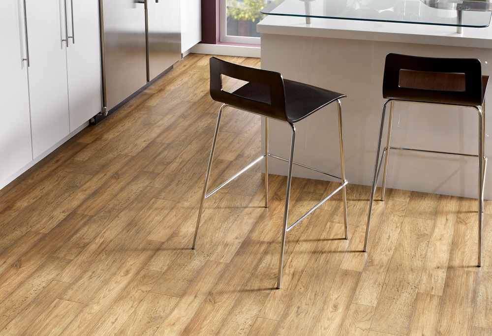 Sheet Vinyl At Crest Flooring That Emulates Wood Tile And